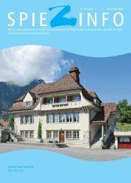 Spiezinfo 2008: Primarschule und Kindergarten Hondrich (PDF)