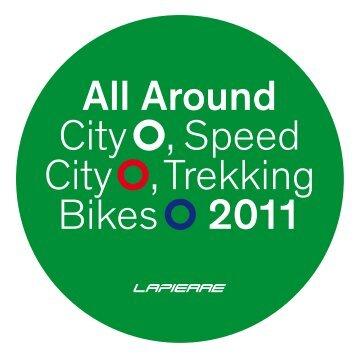 All Around City , Speed City , Trekking Bikes 2011 - Produkte24.com