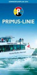 SoMMerfahrPlan 2014 - Primus-Linie