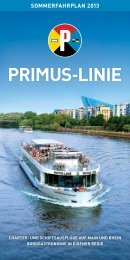 SoMMerfahrPlan 2013 - Primus-Linie