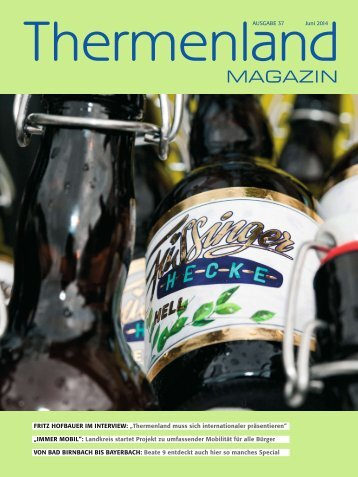 Thermenland Magazin Juni 2014