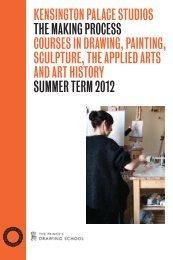 Full Kensington brochure - The Prince's Drawing School