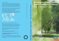 Kensington Palace Studios - The Prince's Drawing School