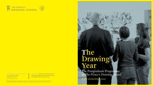 The Drawing Year - The Prince's Drawing School