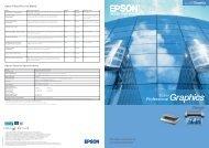 Epson Stylus Pro 3800 Colour InkJet Printer Brochure - Printerbase
