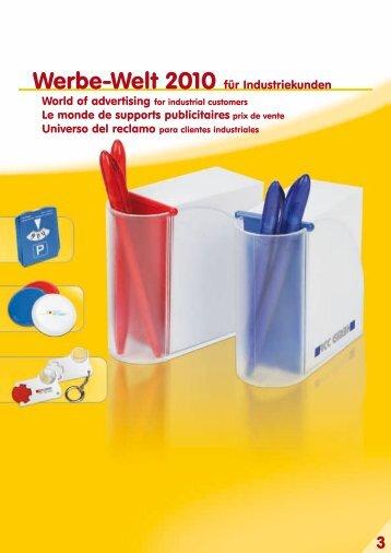Werbe-Welt 2010 für Industriekunden - Print Options