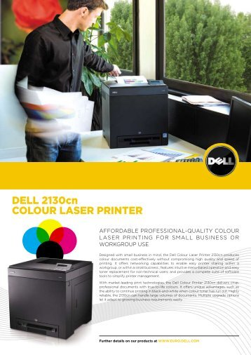Dell 2130cn colour laser printer - Printware
