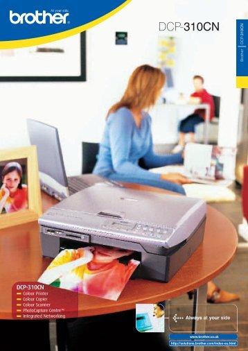 Brother DCP-310CN Multifunctional - Printware