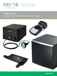 ProScanTM III - Prior Scientific, Inc.