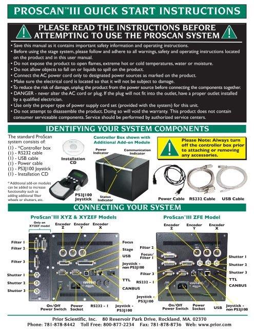 proscan service manual