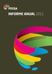 INFORME ANUAL 2011 - Prisa
