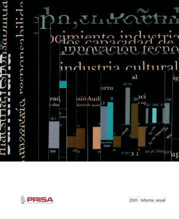 2009 Informe anual - Prisa