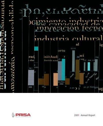 2009 Annual Report - Prisa