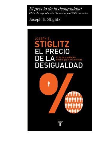 Dossier El precio de la desigualdad - Prisa Ediciones