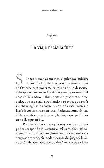 Primeras páginas de 'La sumisa insumisa' - Prisa Ediciones