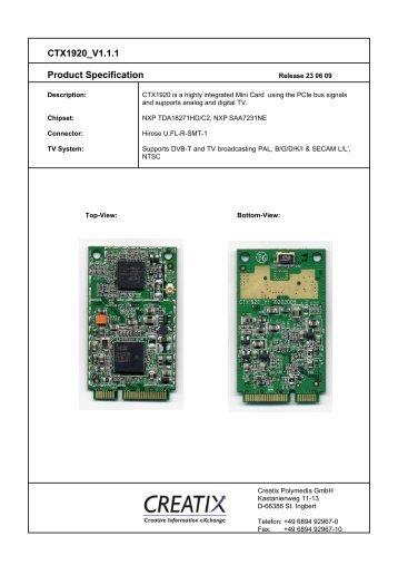 CTX1920 V1 - creatix