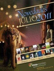 Novedades Julio 2011 - Prisa Ediciones