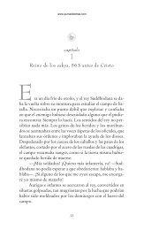 Primeras páginas de 'Buda' - Prisa Ediciones
