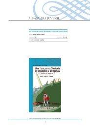 Guía de actividades de 'Una (estupenda) historia de ... - Alfaguara