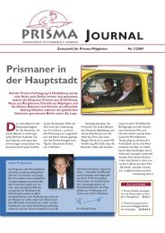 JOURNAL - Prisma Fachhandels AG