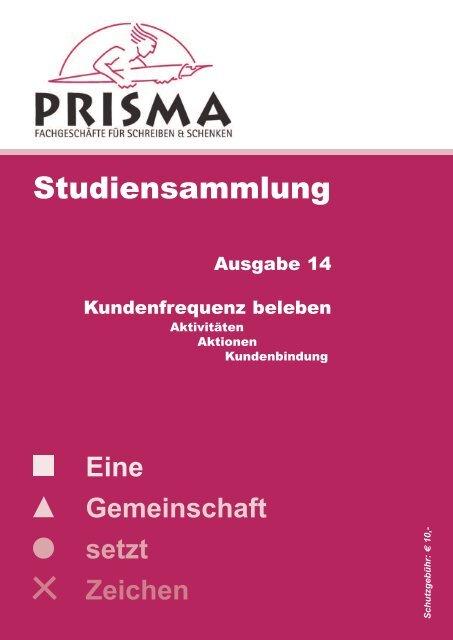 Studiensammlung Nr. 14 - Prisma