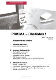 PRISMA – Chefinfos !