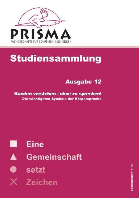 Studiensammlung Nr. 12 - Prisma