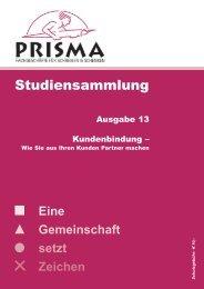 Studiensammlung Nr. 13 - Prisma Fachhandels AG