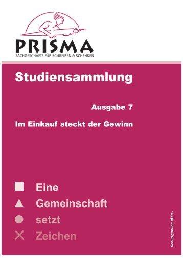 Studiensammlung Nr. 7 - Prisma Fachhandels AG