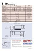 TEDEA-HUNTLEIGH model 1140 stainless steel, low capacity single ... - Page 2