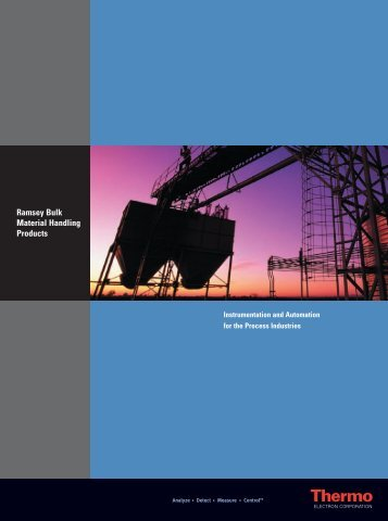 Thermo Ramsey Bulk Catalog