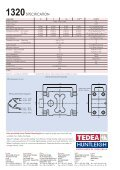 M odel 1320 1320 high capacity single point load cell - Page 2