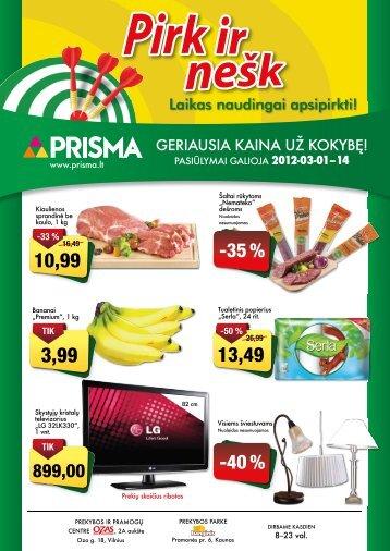 -35 % -40 % - Prisma
