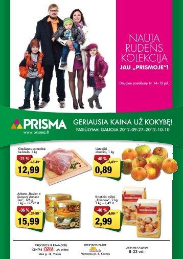 NAUJA RUDENS KOLEKCIJA - Prisma