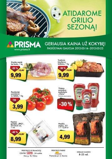 ATIDAROME GRILIO SEZONĄ! - Prisma
