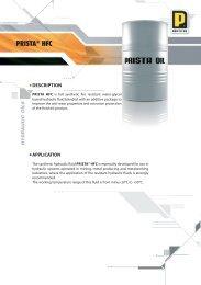 PRISTA® HFC - Prista Oil