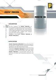 PRISTA® PRECIZOL - Prista Oil