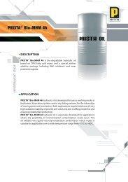 PRISTA® Bio-MHM 46 - Prista Oil