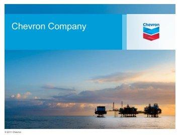 Chevron Company Overview - Prista Oil