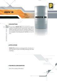 PRISTA® FD - Prista Oil