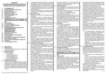 Haftpflichtbedingungen - Pritz Tauchsport