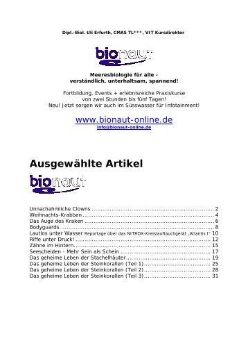 Ausgewählte Artikel - Pritz Tauchsport