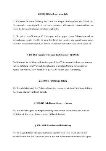 Gesetzesnormen - Pritz Tauchsport