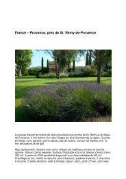France – Provence, près de St. Rémy-de-Provence - Privera