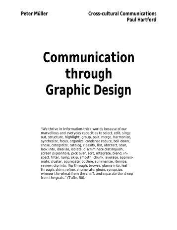 Communication through Graphic Design - Peter R. Mueller