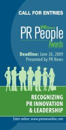 15003 PR People Awards Bro 2009_WEB.pdf - PR News