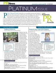 PlatinumIssue - PR News