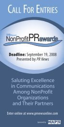 PRN NonProfit Awards Bro.pdf - PR News