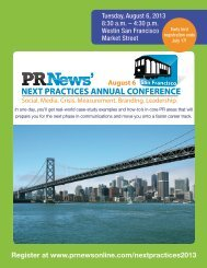 NEXT PRACTICES ANNUAL CONFERENCE San ... - PR News