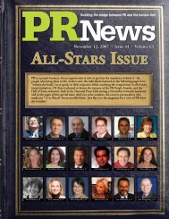 View Issue - PR News